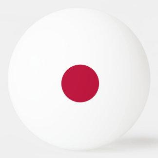 Bola de ping-pong especial con la bandera de Japón