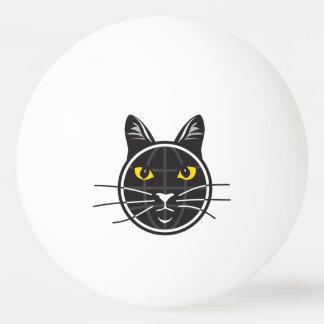 Bola de ping-pong falsa de las noticias del gato