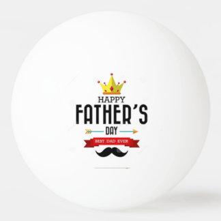 Bola de ping-pong feliz del día de padres