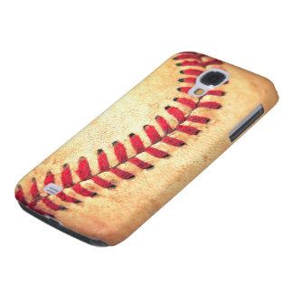 Bola del béisbol del vintage carcasa para galaxy s4