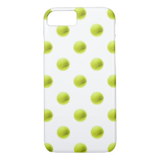 Bola del fondo de las pelotas de tenis de la verde funda iPhone 7