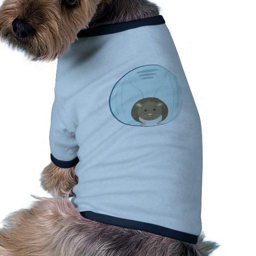 Bola del hámster camisetas mascota