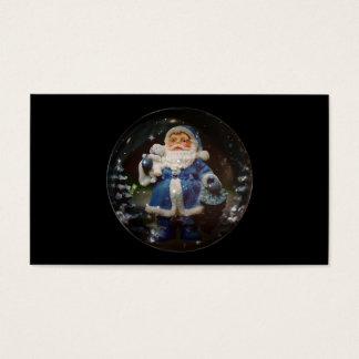 Bola del navidad tarjeta de visita