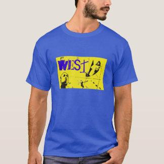 Bola del oeste de la cesta All-star Camiseta