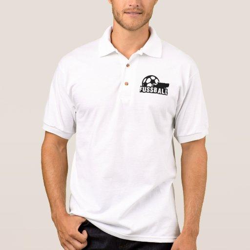 Bola del zapato del fútbol de Fussball Camiseta