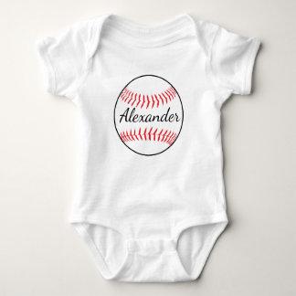 Bola personalizada del béisbol body para bebé