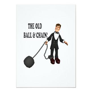 Bola y cadena anuncio