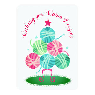 Bolas de la tarjeta de Navidad del ganchillo del