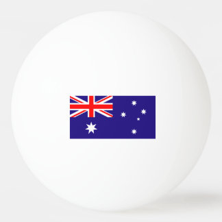 Bolas de ping-pong australianas de la bandera para pelota de ping pong