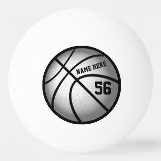 Bolas de ping-pong personalizadas del baloncesto