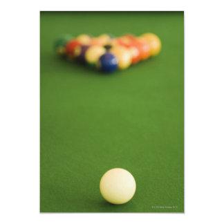 Bolas de piscina invitación 12,7 x 17,8 cm