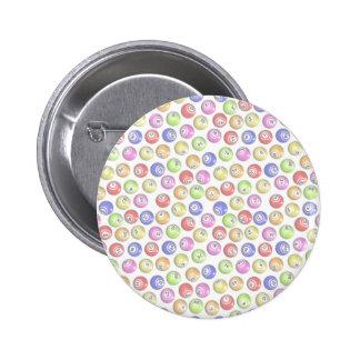 Bolas del bingo pins