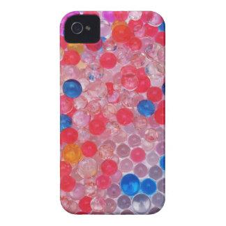 bolas transparentes del agua carcasa para iPhone 4