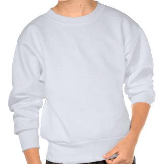boleadoras del logotipo sudadera pulover