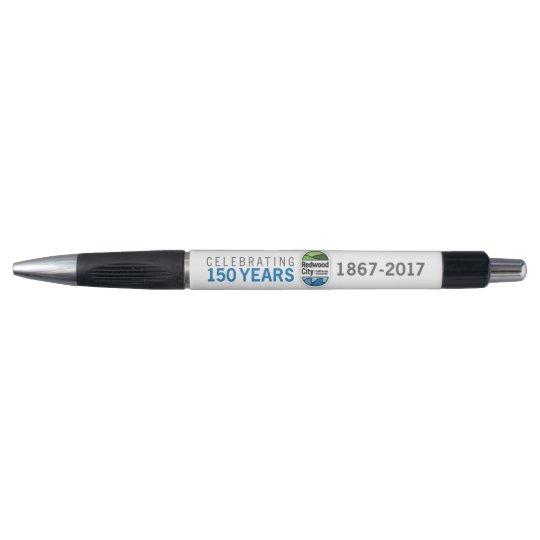 Bolígrafo 150o aniversario de Redwood City