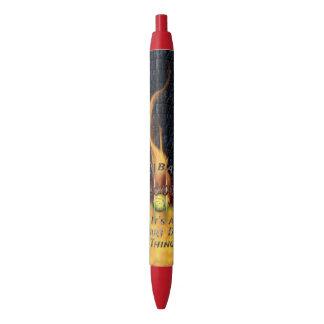 Bolígrafo De Tinta Negra 0,000 Flyball Flamz: ¡Es una cosa del perro del