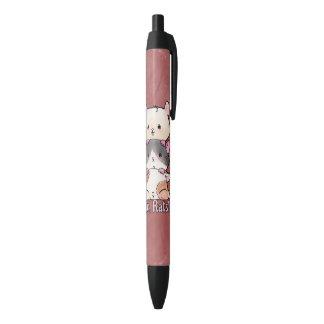 Bolígrafo De Tinta Negra ¡Aw, ratas!
