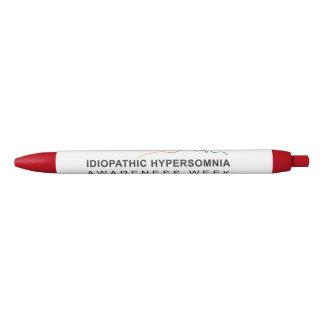 Bolígrafo De Tinta Negra Conciencia idiopática Week® del Hypersomnia de la