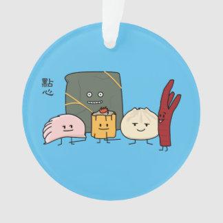 Bollo chino de los bollos de la bola de masa adorno