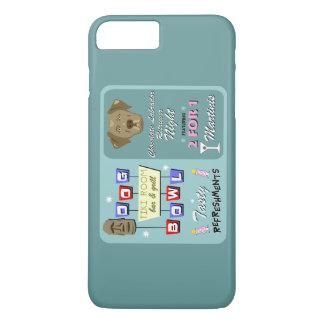 Bolos del labrador retriever del chocolate funda iPhone 7 plus