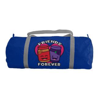 Bolsa De Deporte Amigos para siempre - mantequilla de cacahuete y