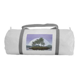 Bolsa De Deporte Árbol con hojas liso de los bonsais del olmo - 3D