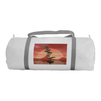 Bolsa De Deporte Árbol de los bonsais del pino escocés - 3D rinden