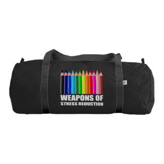Bolsa De Deporte Armas del colorante de la reducción del estrés