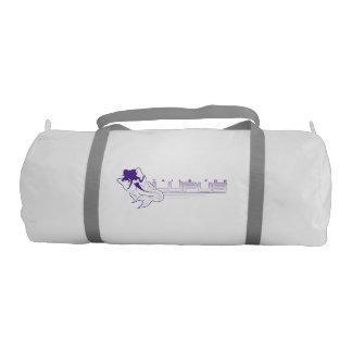 Bolsa De Deporte Cola para el bolso del gimnasio del lupus