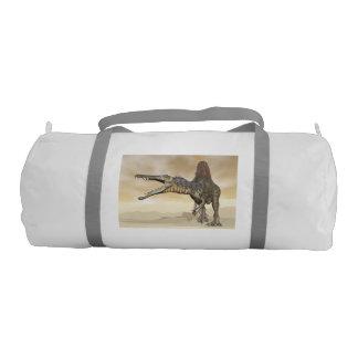 Bolsa De Deporte Dinosaurio de Spinosaurus en el desierto - 3D