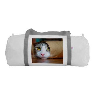Bolsa De Deporte Gato de papel - gatos divertidos - meme del gato -