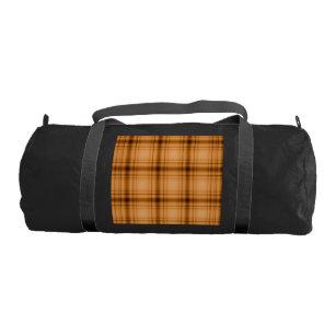 Bolsa De Deporte Impresión de la tela escocesa de Brown del cobre 3cdb033a165b2