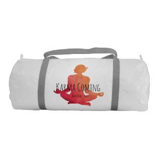Bolsa De Deporte Karmas que vienen - nombre de la yogui