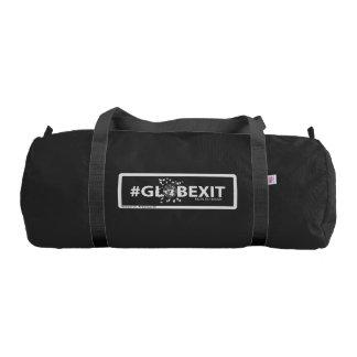 Bolsa De Deporte Petate del gimnasio del #GLOBEXIT (negro)