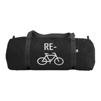 Bolsa De Deporte Recicle la bici de la bicicleta