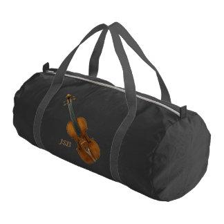 Bolsa De Deporte Violín de Stradivari con el monograma de encargo