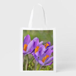 Bolsa De La Compra Azafranes púrpuras