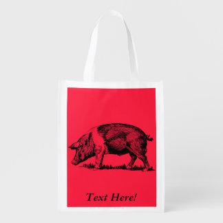 Bolsa De La Compra Cerdo