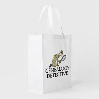 Bolsa De La Compra Detective de la genealogía