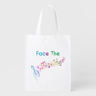 Bolsa De La Compra Haga frente a la música