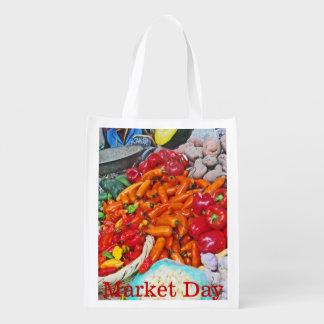 Bolsa De La Compra Mercado orgánico - cielo de Foodie - chiles y más