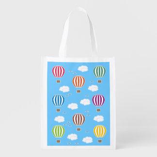 Bolsa De La Compra Modelo de los balones de aire