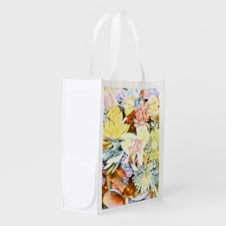 Bolsa De La Compra Reutilizable 1117 floral suave