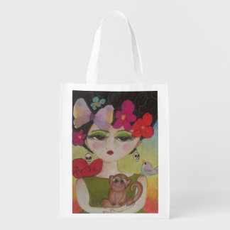 Bolsa De La Compra Reutilizable Amo a Frida