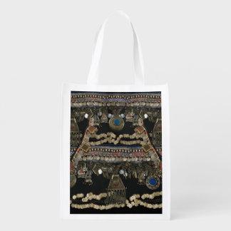 Bolsa De La Compra Reutilizable Danza de Belly tribal de Kuchi