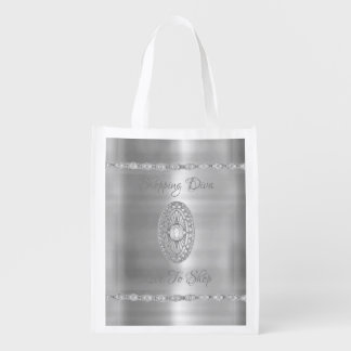 Bolsa De La Compra Reutilizable Diva de las compras