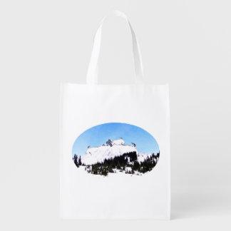 Bolsa De La Compra Reutilizable Montaña de cabras