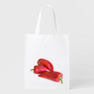 Bolsa De La Compra Reutilizable Pimienta roja