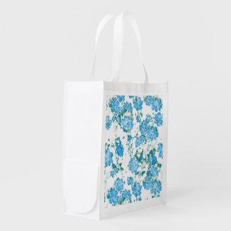 Bolsa De La Compra Reutilizable sueños florales 12 E