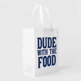 Bolsa De La Compra Reutilizable Tipo con la comida